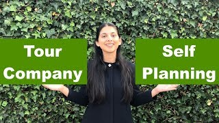 Tour company vs Self planning | Which is better ? | How to plan