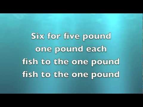 One Pound Fish Song with LYRICS