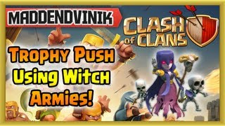 Clash of Clans - Clan Trophy Push, Going to Master Maybe? (Gameplay Commentary)