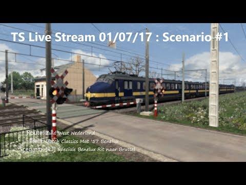 [RJ] Speciale Benelux Rit naar Brussel (Livestream 01/07/17)