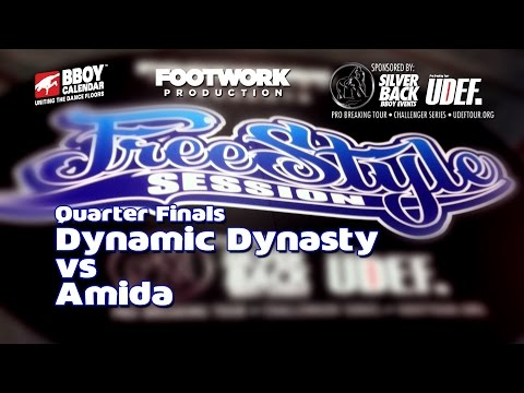 Freestyle Session 2014 - Dynamic Dynasty Vs Amida - Quarter Finals