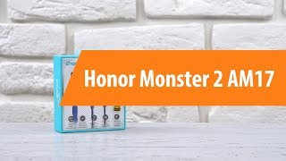 Распаковка наушников Honor Monster 2 AM17/ Unboxing Honor Monster 2 AM17