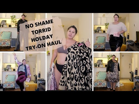 NO SHAME TORRID HOLIDAY TRY-ON HAUL