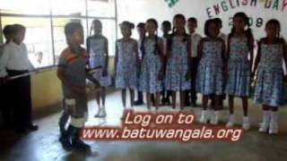 Action song by primary students
