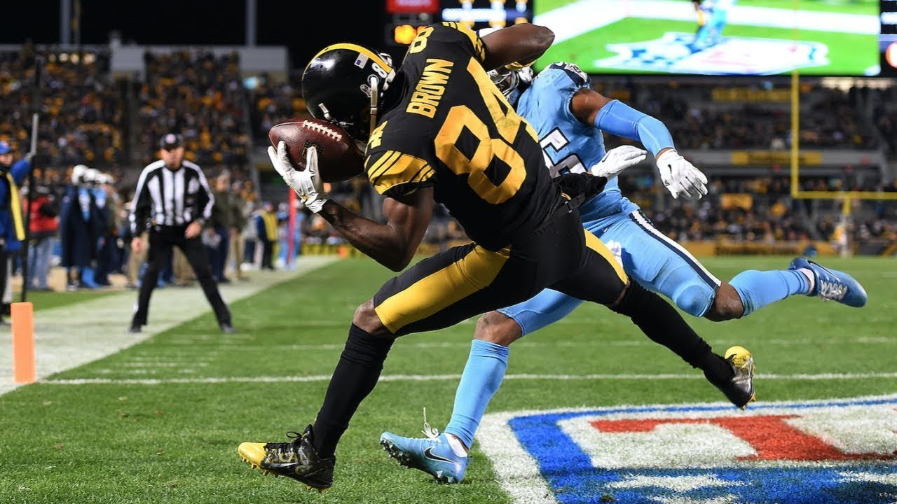 Antonio Browns  Greatest Catches That Will Leave You Speechless