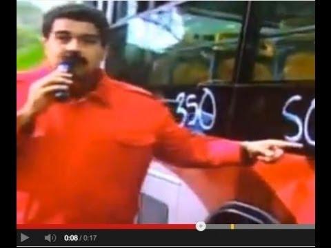 NICOLAS MADURO HACE EL RIDÍCULO, NO SABE LO QUE SIGNIFICA S.O.S 21 DE FEBRERO 2014