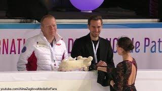 Alina Zagitova GP France 2019 SP FULL Practice HQ