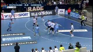 Handball - Where 150 km/h happens! Deutschland - Slowenien