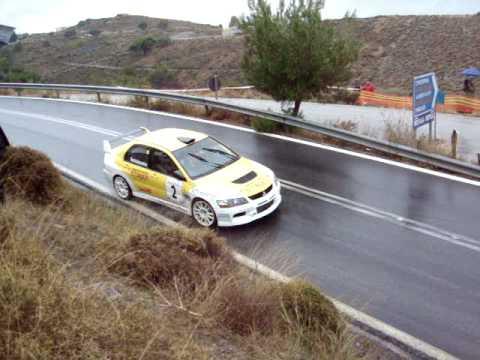 DASKALOPOULOS -SOUKOULIS EVO IX RALLY PALADIO 2008 GREECE
