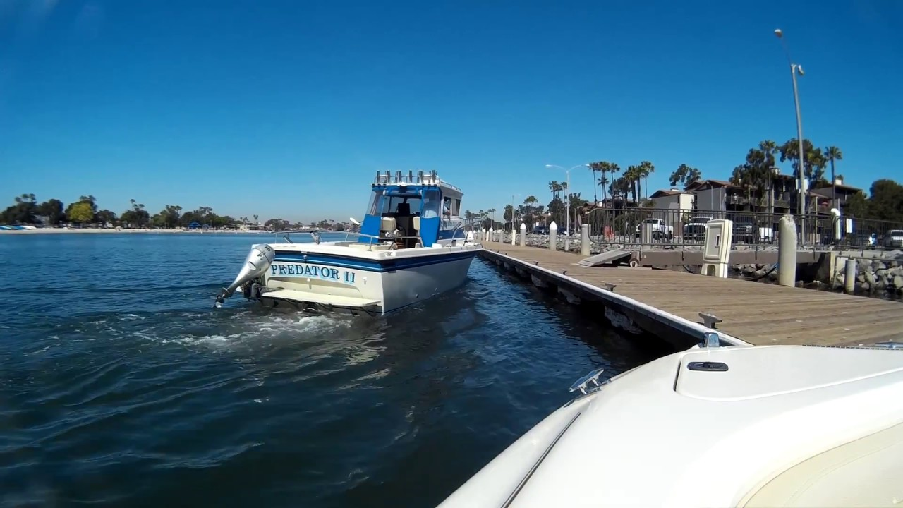 Sea Ray 210 Boat Ride Davies Harbor In Alamitos Bay To Rainbow Long Beach Ca
