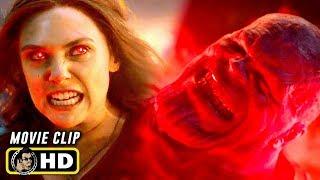 AVENGERS: ENDGAME (2019) Scarlett Witch Vs. Thanos Fight Scene [HD]