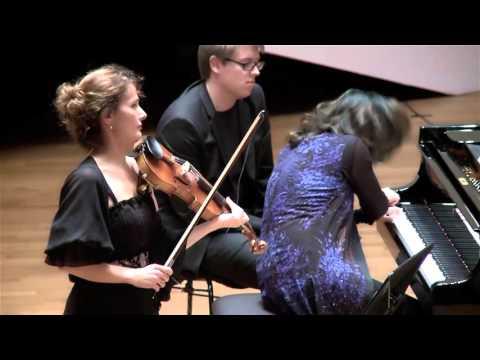 Francis Poulenc Violin Sonata (Sandrine Cantoreggi violin - Connie Shih piano) 3/3