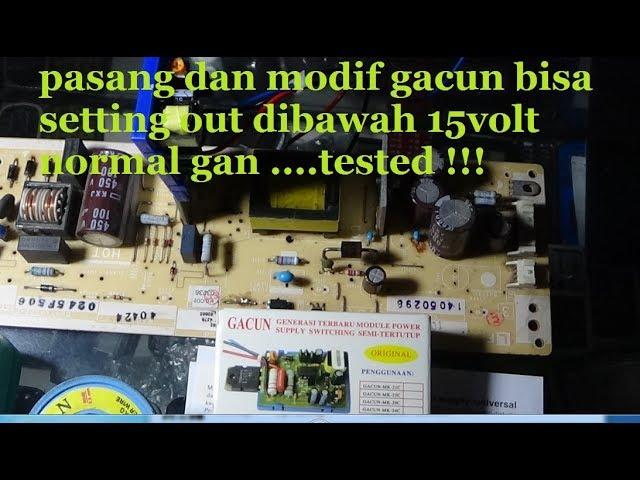 CARA PASANG DAN MODIF GACUN DI SEMUA PSU TESTED !!!