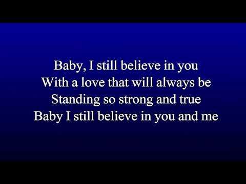 Karaoke Vince Gill - I Still Believe In You (Best Key For Male)