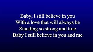 Karaoke Vince Gill - I Still Believe In You (Best Key For Male)