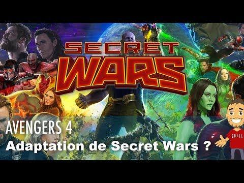Avengers 4 va s'appeler Secret Wars ?
