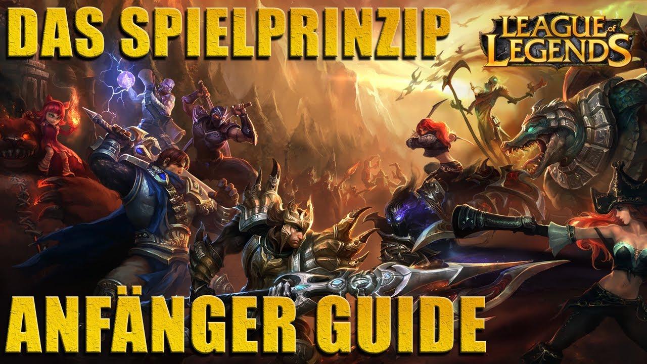 League Of Legends Lol Grundlagen Für Einsteiger Anfänger Guide
