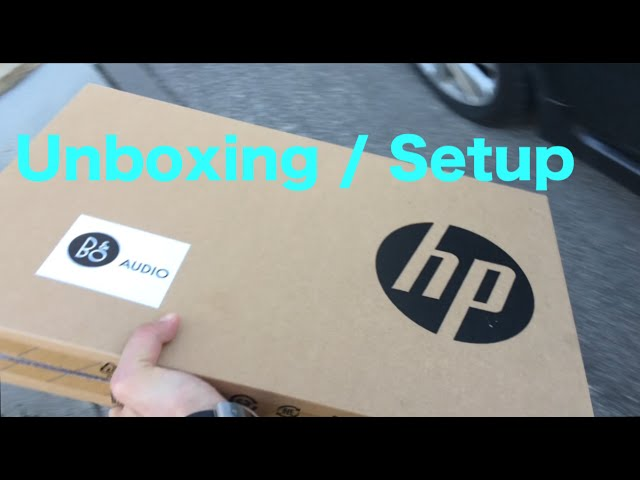 Unboxing Setup Instructions For A New Laptop Hp Pavilion Notebook 17 Youtube