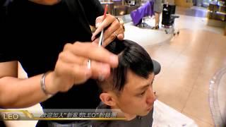 男士油頭男生DIY理髮 2016年流行髮型 Pompadour haircut - how to cut a pompadour haircut -- Clipper over comb