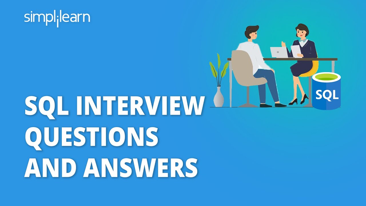 SQL Interview Questions And Answers   SQL Interview Preparation   SQL Training