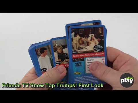 Friends TV  Top Trumps Card Game FIRST LOOK!