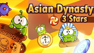 Cut the Rope: Time Travel Game Chapter 9: Asian Dynasty 3 Stars Walkthrough