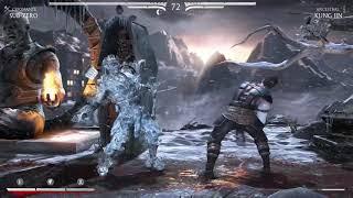 Mortal kombat XL. Sub zero vs. Kung Jin XBOX 1