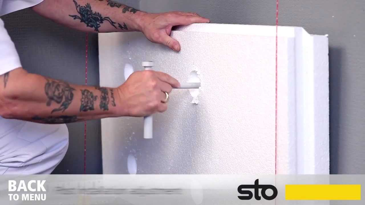 How to Apply a StoTherm System with Sto-Rotofix Plus - YouTube