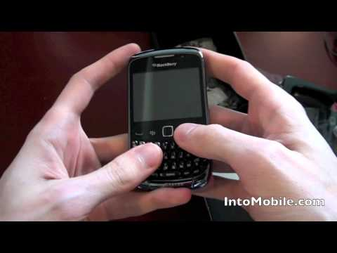 RIM BlackBerry Curve 9300 unboxing and hands-on