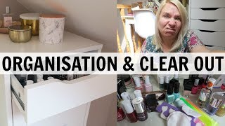 BEAUTY ORGANISATION & CLEAR OUT!