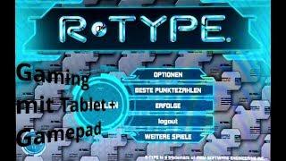RetroPioneer - #44 - Spiele auf dem Tablet (iPad) mit Gamepad  - R-Type - Review (deutsch)