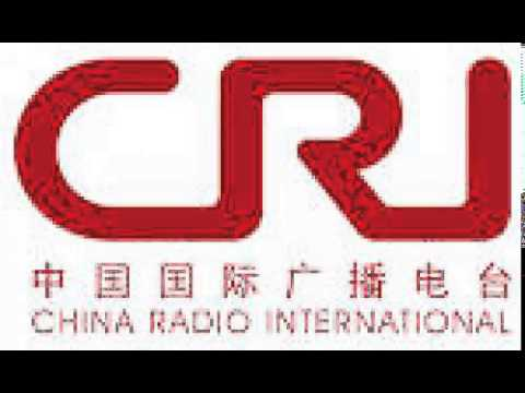 China Radio Int. on 9745khz shortwave at 1950 09 Aug 2015