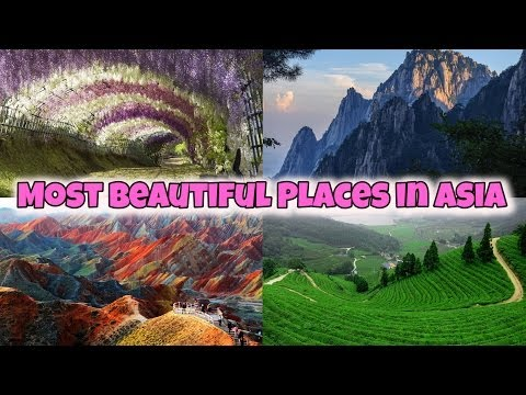 15 Places in Asia You Won't Believe Exist