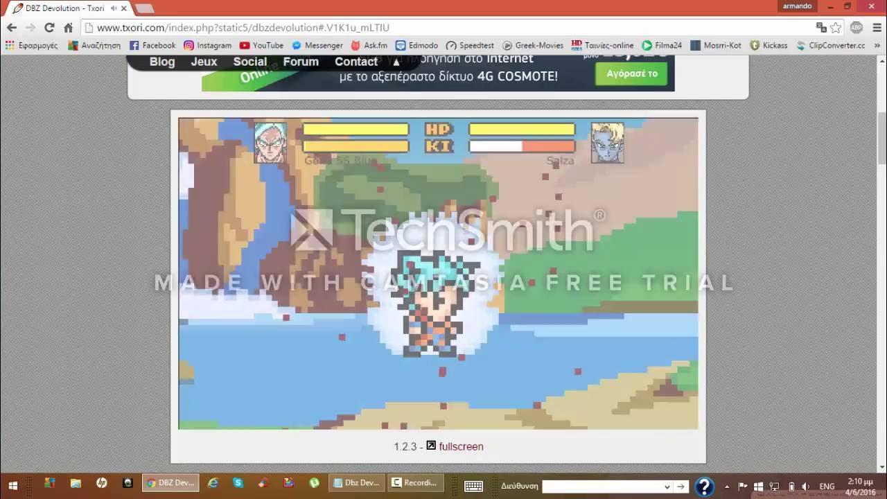 dbz devolution hacked online games