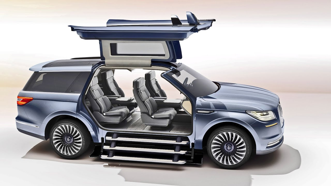 first look 2016 lincoln navigator concept youtube. Black Bedroom Furniture Sets. Home Design Ideas