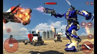 Robot Police Train Transformation FPS Shooter (By Titan Game Productions) Android Gameplay HD