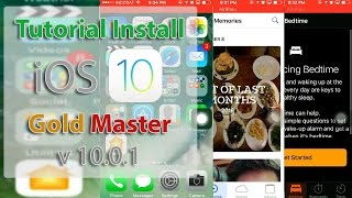 Tutorial Install iOS 10 GM v10.0.1