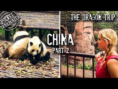 GIANT PANDAS & overnight train in CHINA : The Dragon Trip : Part 2