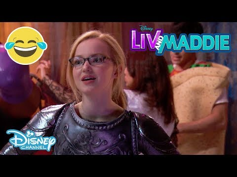 Liv And Maddie | Halloween Costume Mix Up