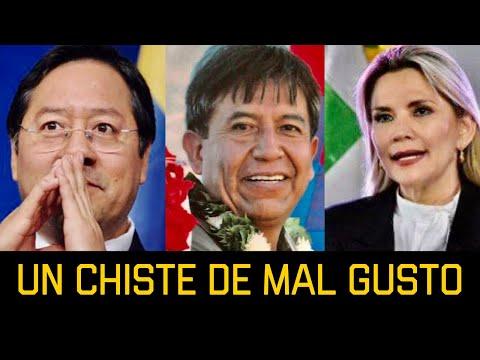 """CHOQUE HUANCA ES CUALQUIER COSA """"ES UN CHISTE DE MAL GUSTO COMO POLÍTICO"""" DICE CARLOS VALVERDEиз YouTube · Длительность: 3 мин34 с"""
