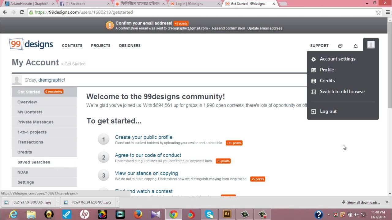 99designs Bangla 1 Youtube 99design Browse Contest