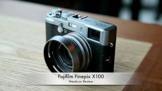 Fujifilm Finepix X100 Hands-on Review thumbnail