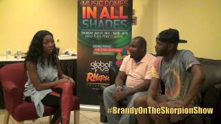 The Skorpion Show Interviews Brandy @4everbrandy (Put It Down, Whitney Houston & More)