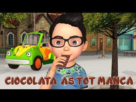 Ciocolata As Tot Manca !!! - Cioco Cioco - Cantecele Pentru Copii -