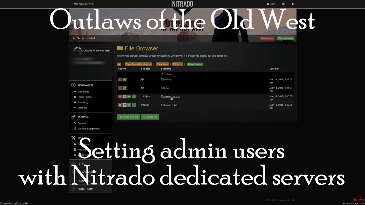 Outlaws of the Old West: Setting Up Admin Users on a Dedicated
