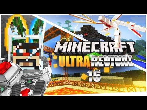 Minecraft: Ultra Modded Revival Ep. 16 - BIG BERTHA