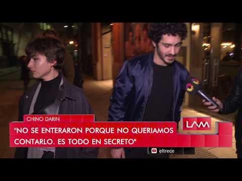 """Úrsula """"Tokio"""" Corberó en Buenos Aires paseando de la mano del """"Chino"""" Darín"""