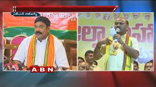 BJP and TDP leaders exchange counters | BJP Vishnu Kumar Raju | TDP Minister Ayyanna Patrudu