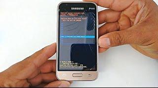 Hard Reset Samsung Galaxy J1 mini, J105, J105M, J105B, J105F, J105H, J105Y, Como formatar screenshot 4