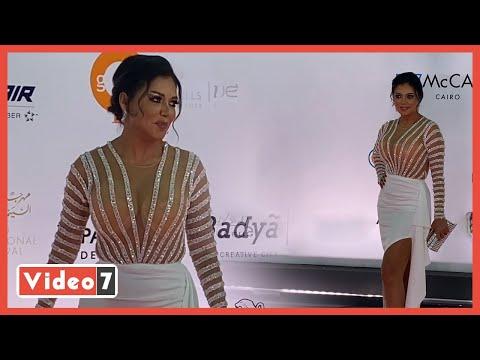 رانيا يوسف ترقص بفستان مثير فى ختام مهرجان القاهرة